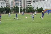 广东足球援疆助喀什少年成长 丰富学生业余生活