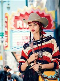 超模Zhenya Katava为《Glamour》杂志拍摄亚博体育大片