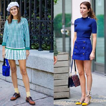 初秋服装流行趋势示范 针织衫让你御寒又有女人味