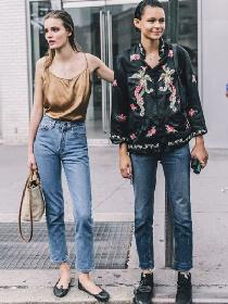 秋季服装流行趋势示范 4款牛仔裤让你轻松闪耀街头