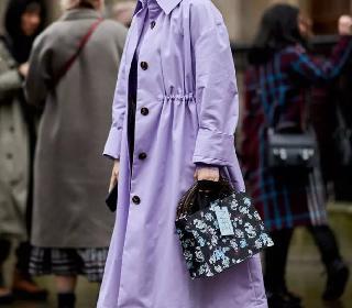 欧美服装流行趋势示范 紫色其实很好驾驭