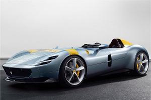 法拉利发布Monza SP1/SP2官图 最大功率或达809马力