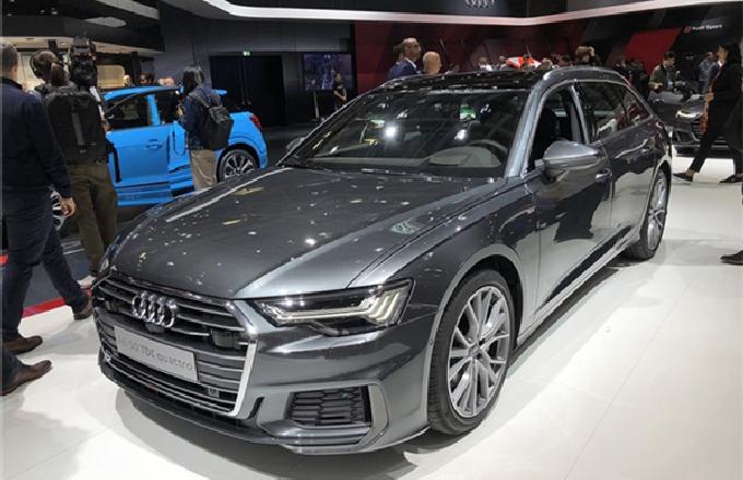 奥迪发布全新A6 Avant实车 搭载48V微混系统
