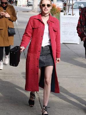 明星穿衣搭配造型示范 小个子也能hold住长大衣