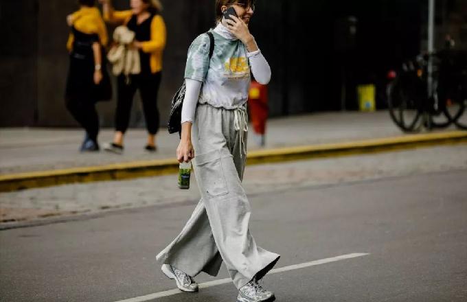 欧美服装流行趋势示范 你确定不来一条阔腿裤么?