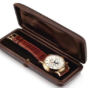 亚洲拍卖史上最贵腕表诞生啦!