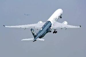 海南航空首架A350私人飞机顺利完成商业航班