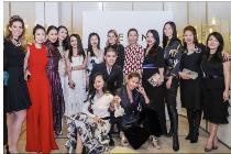 百名宾客齐聚一堂共同庆祝AERIN Beauty中国成功上市