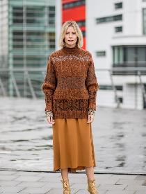 没有毛衣+半裙的冬天是不完整的!