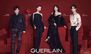 法国娇兰 (Guerlain) 携四位娇兰新年蜜语使者推出新年蜜运红盒