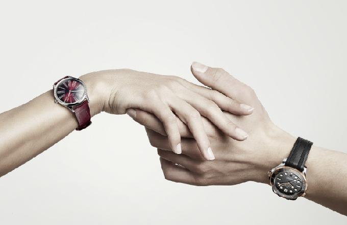 欧米茄 (Omega) 海马系列300米潜水腕表和碟飞名典系列女士腕表