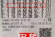 老彩民10元机选揽双色球719万 选择对家人保密
