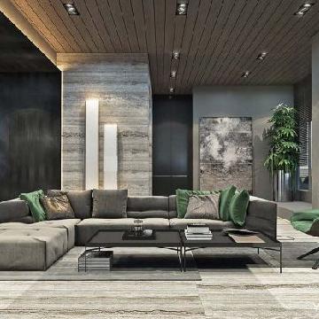 """重新定义""""城市丛林"""":现代和自然融合的豪宅设计"""