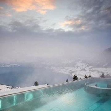 瑞士洪恩格别墅酒店 比尔根山上的美丽一隅