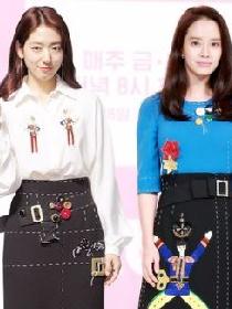 韩国两大国民女神 朴信惠宋智孝同款裙装你pick哪个?