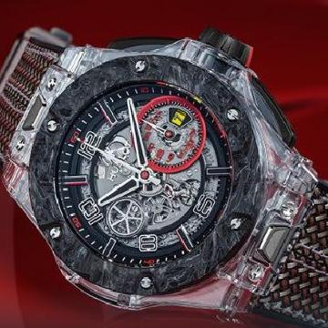 腕上的赛车情怀 宇舶Big Bang 法拉利车队90周年纪念腕表
