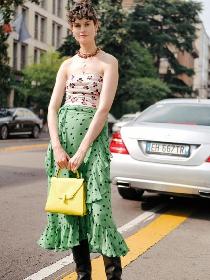 一条裹身裙递来的显瘦特效 让你惊艳到尖叫
