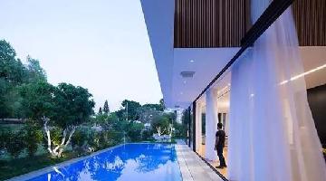 客厅连接游泳池 每天都是假期
