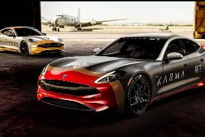 战机涂装Karma Revero GT出战拉力赛事
