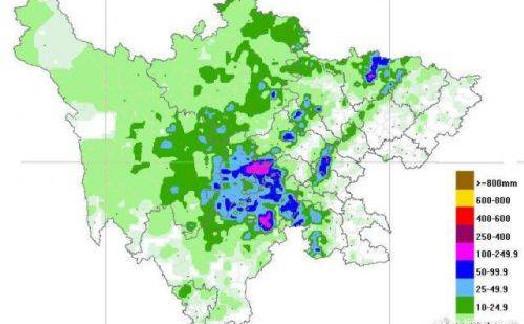 成都发布暴雨预警 最大小时雨量为86.7毫米