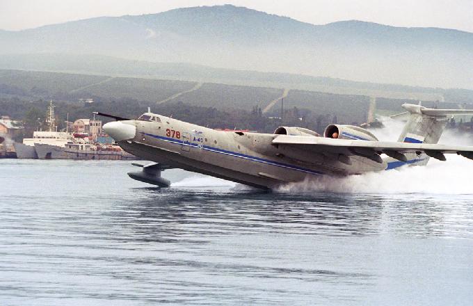 """苏联""""A-40""""水上飞机""""信天翁""""将于21世纪20年代初迎来新生"""