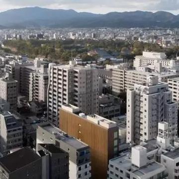 位于日本京都的Nakagyo Ward区的MOGANA酒店 灯光氛围超有艺术感