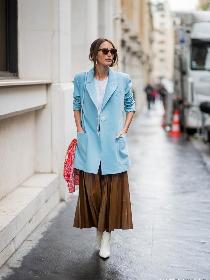 2020春日流行穿法 西装搭裙的6个穿搭技巧实在优雅!