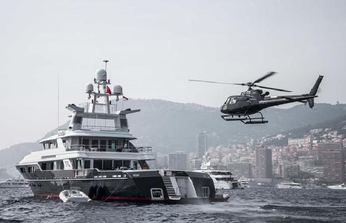 48.53米长的T6远征游艇以2100万美元转手售出