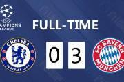 欧冠1/8决赛首回合 拜仁客场3-0战胜切尔西