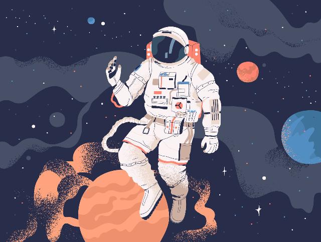 宇航员上太空怎么上厕所