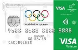 华夏银行精英VISA智程信用卡·奥运五环卡(VISA,美元,白金卡)