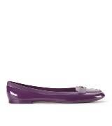 Furla紫色平底鞋