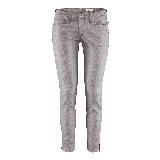 H&M银灰色修身长裤