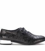 Furla黑色做旧平底鞋