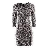 H&M粗花呢连衣裙
