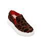 Alexander McQueen oversize低帮豹纹运动鞋