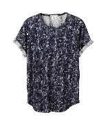 H&M x Isabel Marant印花上衣