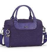 Kipling大尺寸紫色手提包