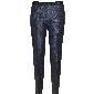 H&M 蓝色暗纹锥形裤