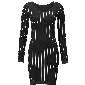 H&M海恩斯莫里斯条纹连衣裙