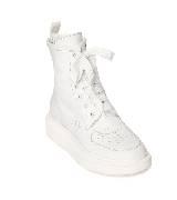 Alexander McQueen oversize白色高帮运动鞋