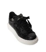 Alexander McQueen oversize黑色运动鞋