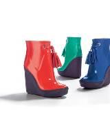 COACH 亮色漆皮高跟鞋