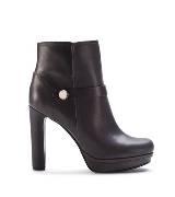 Furla栗棕色踝靴