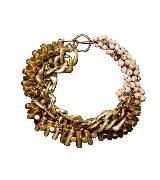 H&M 仿旧铜珠手镯