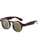 H&M 琥珀色框复古墨镜