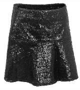 Karl Lagerfeld卡尔•拉格斐2013秋冬黑色涂层短裙