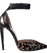 Emporio Armani安普里奥阿玛尼豹纹高跟鞋