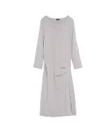 Anteprima米灰色羊毛大衣