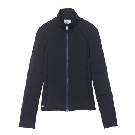 鳄鱼(LACOSTE)2013春夏黑色高领女士卫衣